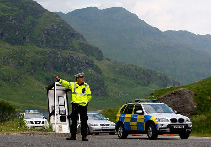 Škotijos policija