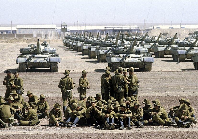 Sovietų kariai Afganistane