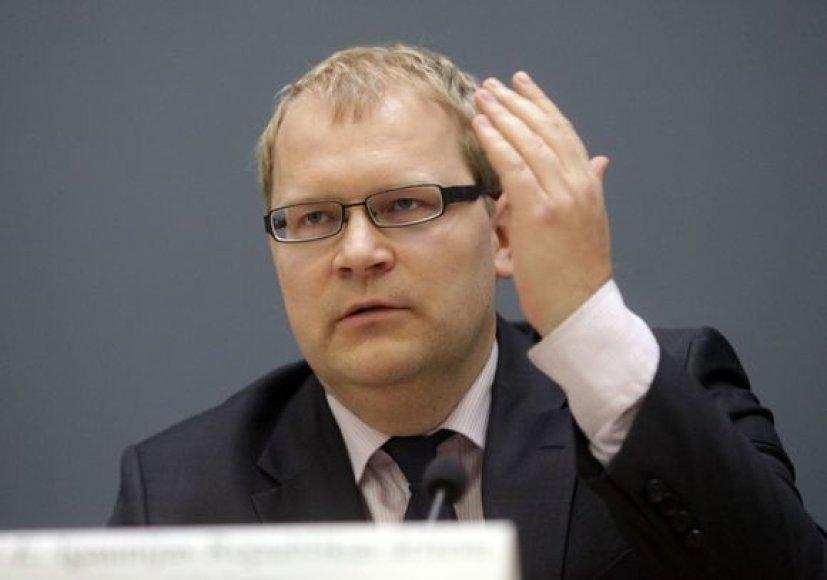 Estijos užsienio reikalų ministras Urmas Paetas