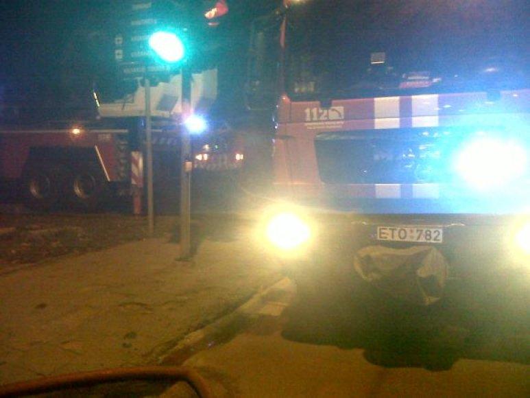 Naktinis gaisras Vilniuje, Kalvarijų gatvėje