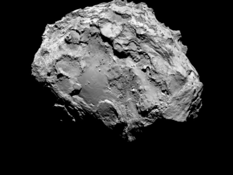 Taip atrodo Čuriumovo-Gerasimenkos kometa, fotografuota iš 100 kilometrų atstumo