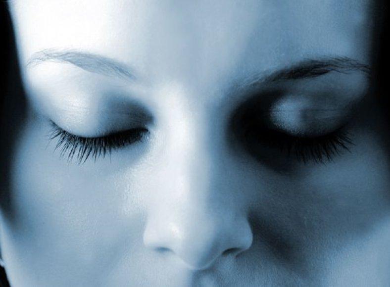 Asociatyvinė nuotrauka. Moters veidas