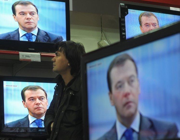 Rusija neslepia informacinės ekspancijos ambicijų.