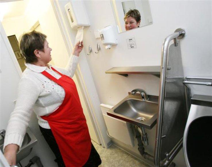 Merą A.Kupčinskas laikinai pavaduojantis A.Kurlavičius sudvejojo, ar tualeto ploto užtektų muziejui įrengti.