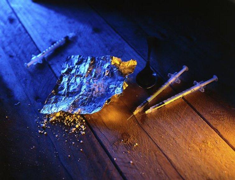 Rusijoje yra 2,5 mln. narkomanų.