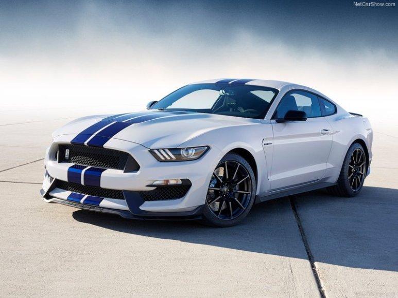 """""""Ford Performance"""" sukurtas """"Ford Mustang Shelby GT350"""" rinkoje pasirodys 2016 metais"""