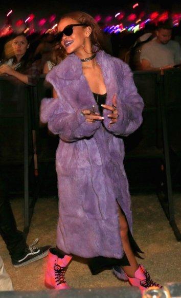 """Rihanna """"Coachella"""" festivalyje"""