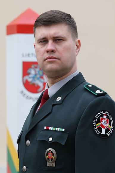 Majoras Giedrius Krilavičius