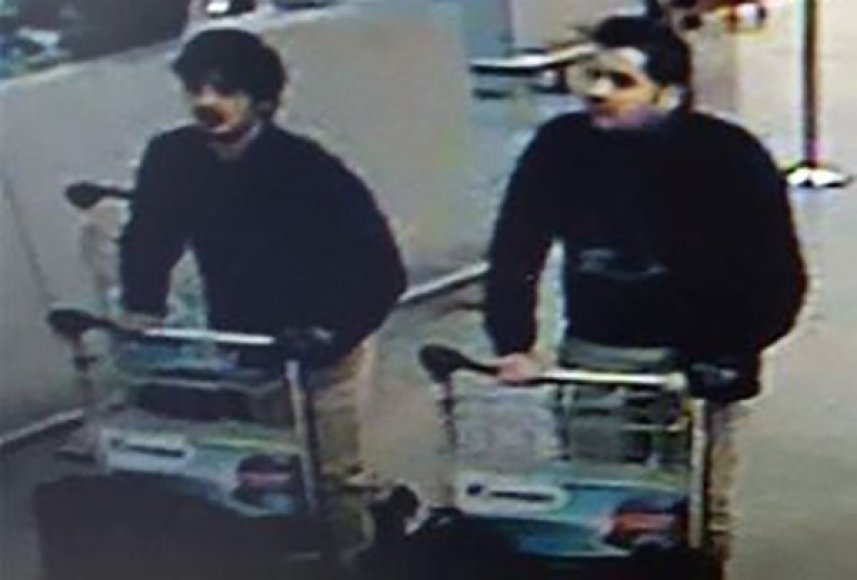 Broliai Khalidas El-Bakraoui ir Ibrahimas El-Bakraoui