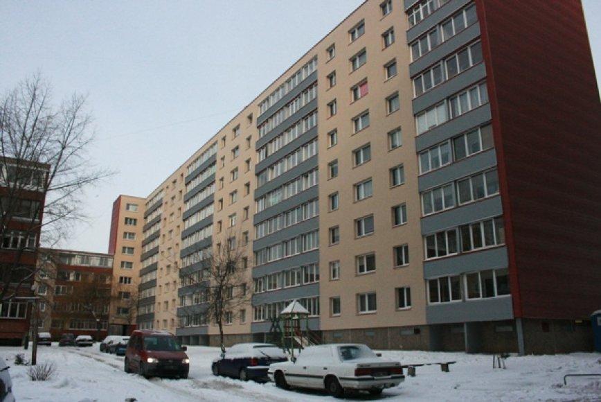 I.Simonaitytės g. 3 devynaukštis yra didžiausias renovuotas daugiabutis Lietuvoje.