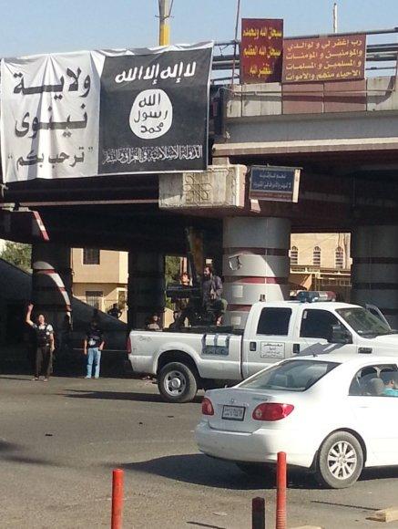 """""""Islamo valstybės"""" teroristų kontrolouojama teritorija"""