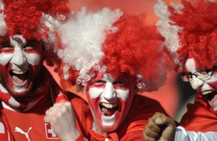 Šveicarų fanai