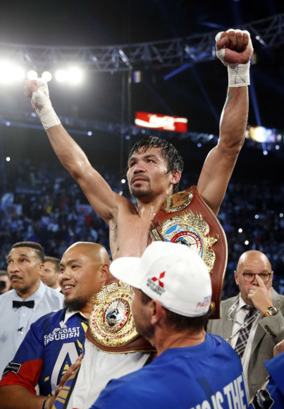 Many Pacquiao – Timothy Bradley