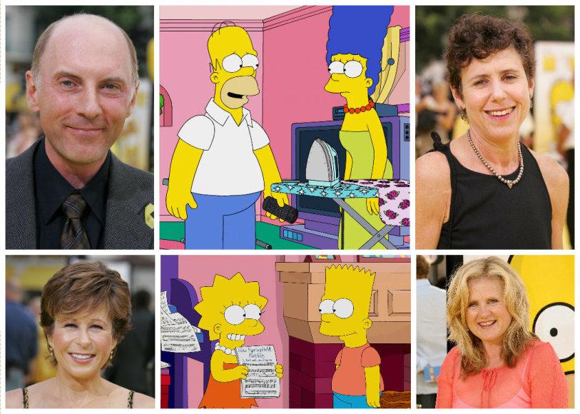 """Štai kaip atrodo žmonės, įgarsinantys """"Simpsonų"""" personažus"""