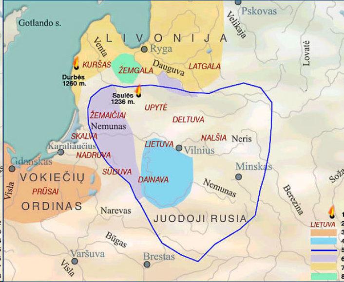 Viduramžiais sienos buvo sąlyginis reiškinys