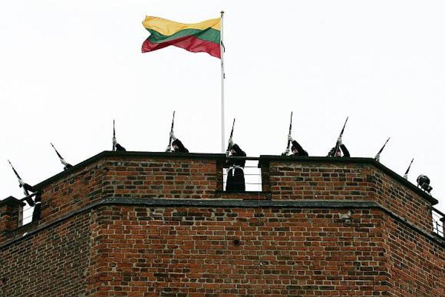 Iškilmingas vėliavos pakėlimas