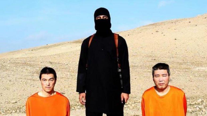 Džihadistas Johnas su japonų įkaitais
