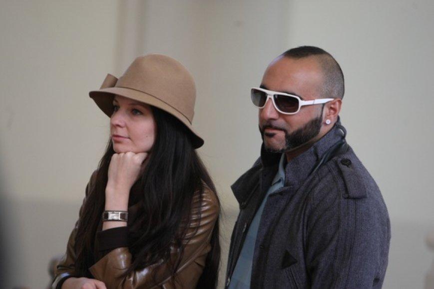 DJ Sezzy su žmona Agne Saylik