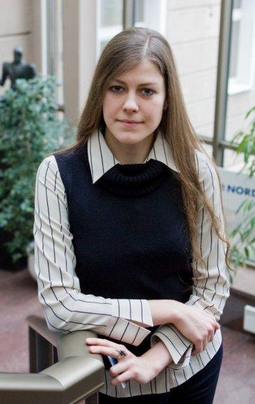 DnB NORD vyresnioji analitikė Indrė Genytė-Pikčienė