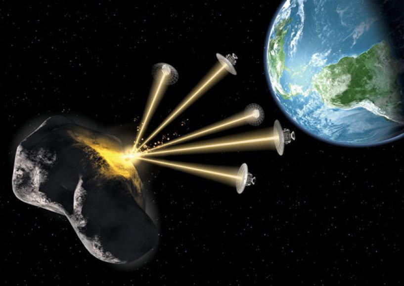"""Asteroidas """"Apophis"""""""