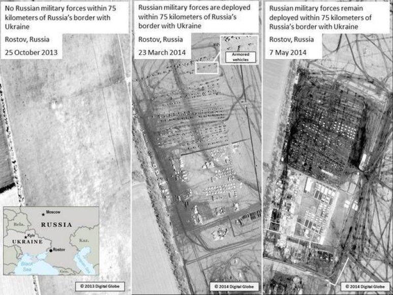 NATO paviešintos nuotraukos