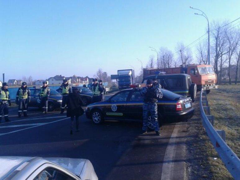 Kontrolės postas prie Kijevo