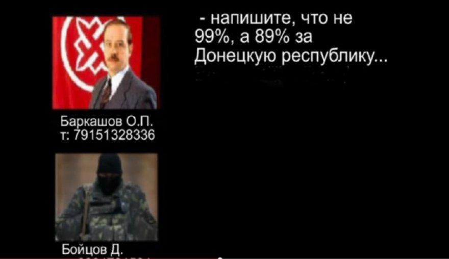 Ukrainos saugumo tarnybos paskelbtas pokalbio įrašas