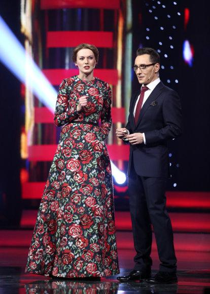 Beata Tiškevič ir Andrius Rožickas