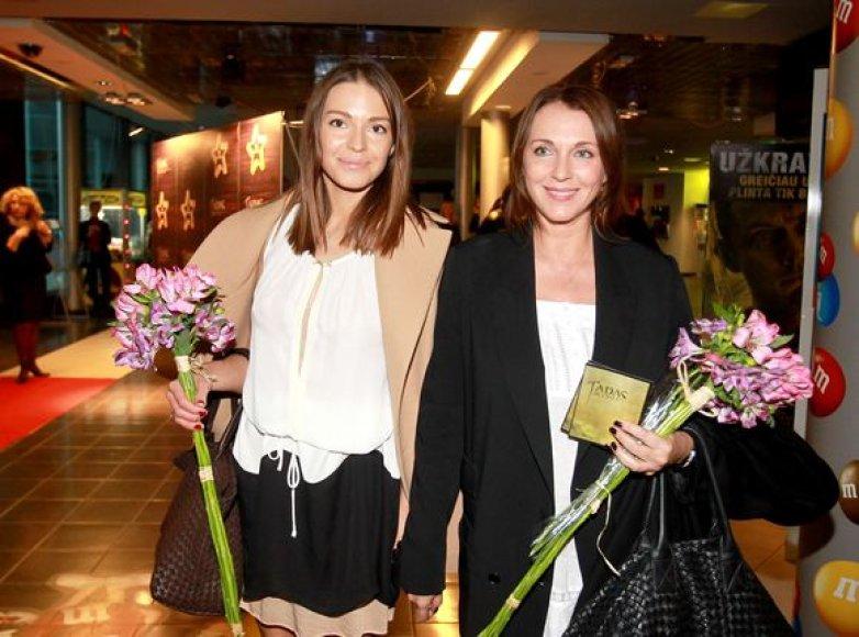 Agnė Ditkovskytė ir Tatjana Liutajeva