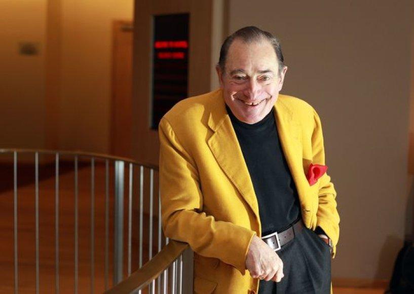 Legendinis prancūzų režisierius Pierre'as Etaixas