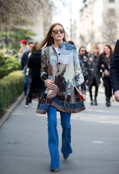Olivia Palermo Paryžiaus mados savaitėje