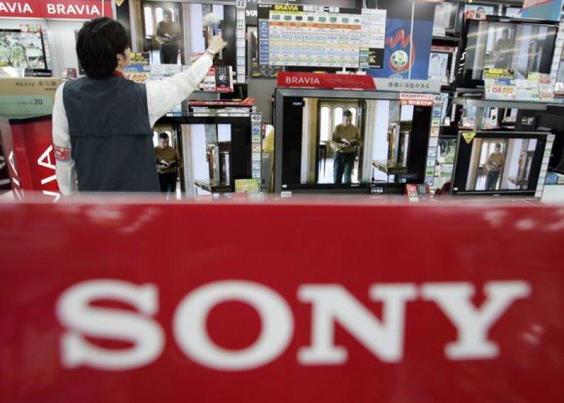 """""""Sony"""" atleidžia darbuotojų."""