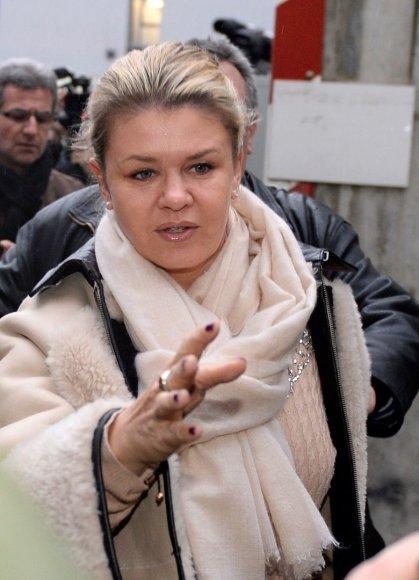 Michaelio Schumacherio žmona Corinna Scumacher