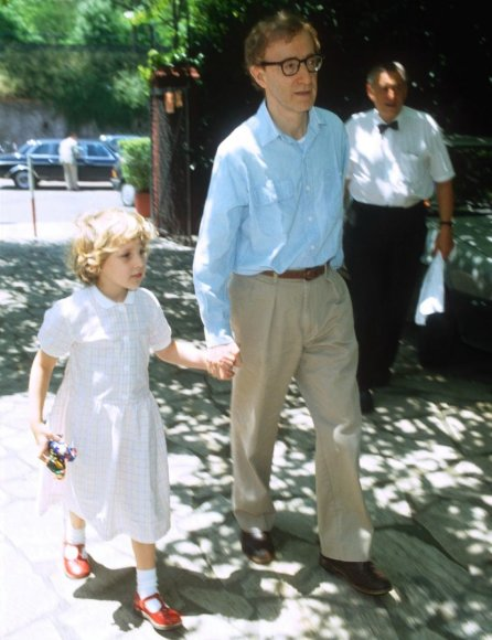 Woody Allenas su įdukra Dylan 1991-aisiais