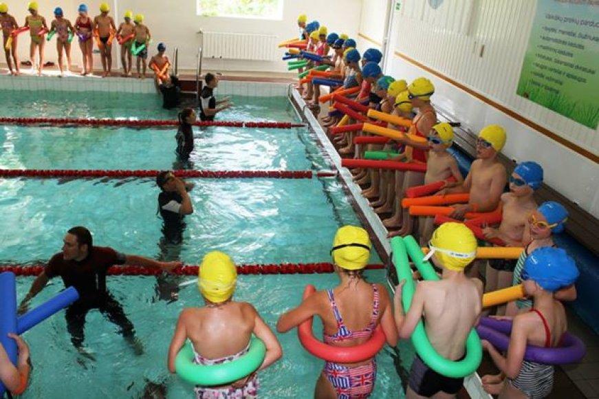 Vilniaus vaikai siekė pasaulio rekordo