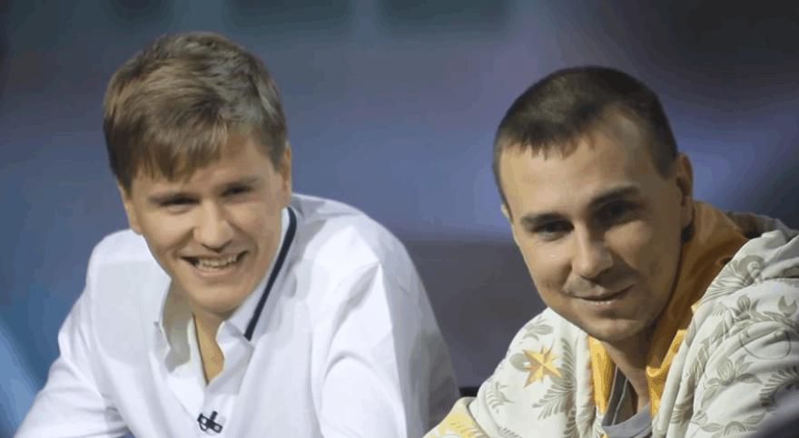 Dominykas Karmazinas (kairėje) ir Dmitrijus Gromovas / organizatorių nuotr.