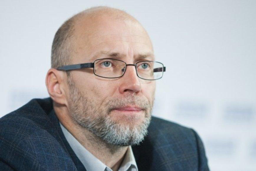 LŠPS pirmininkas Audrius Jurgelevičius