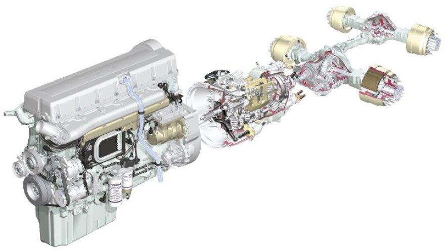 """""""Volvo FH16"""" variklis"""