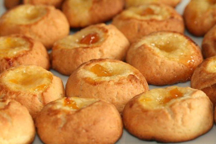 Sausainiai su džemu