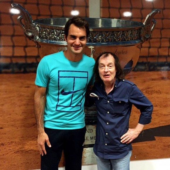 Rogeris Federeris ir Angusas Youngas