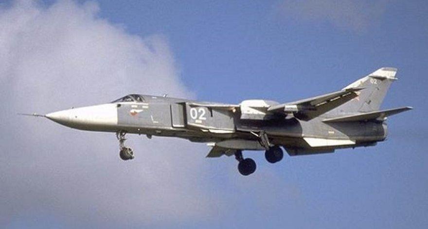 """Ukrainiečių karinis žvalgybos lėktuvas """"SU-24M"""""""
