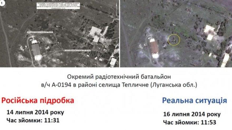 Suklastotos Rusijos palydovų nuotraukos