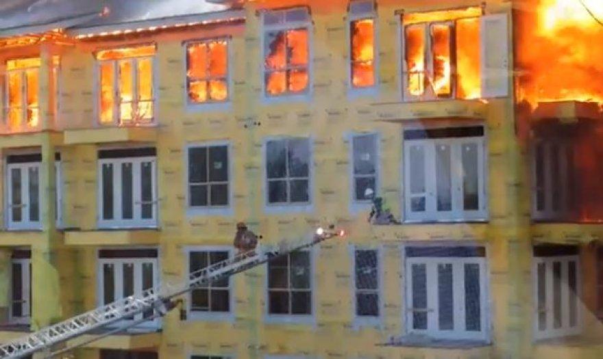 Ugniagesio gelbėjimas