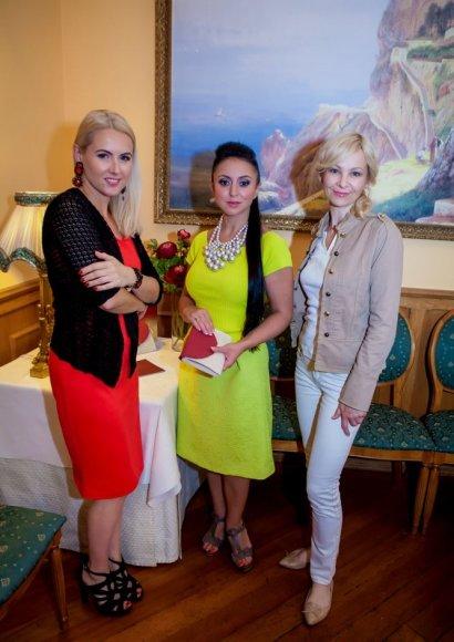 Asta Jonušienė, Rūta Morozovienė ir Violeta Malevska
