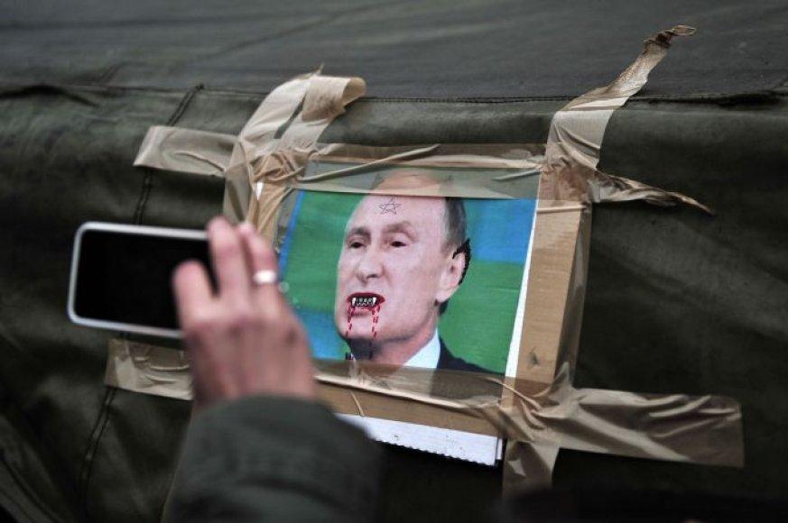 V.Putino karikatūra