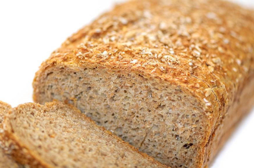 Duona iš miltų su sėlenėlėmis