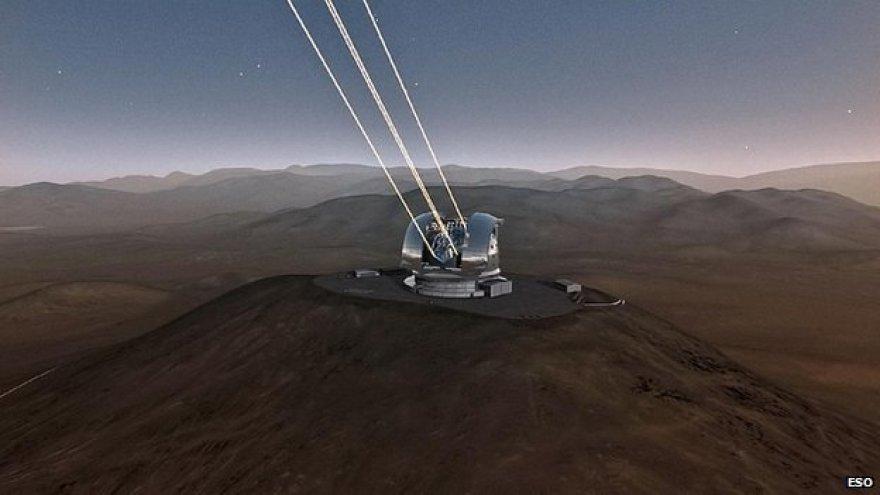 Taip turėtų atrodyti didžiausias pasaulyje teleskopas