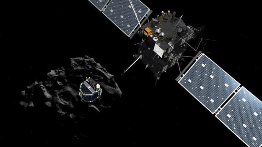 """Kosminio zondo """"Rosetta"""" ir apratao """"Philae"""" atsiskyrimas"""