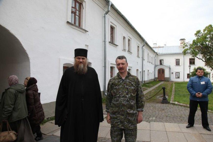 Igoris Strelkovas pastebėtas Rusijos Vienuolyne