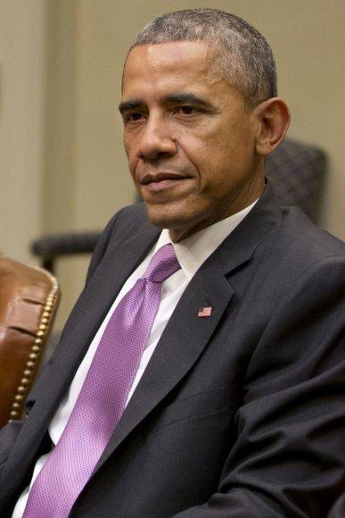 JAV prezidentas Barackas Obama